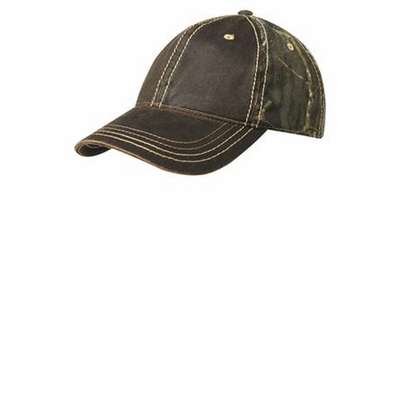 Port Authority Cap: Pigment-Dyed Camouflage