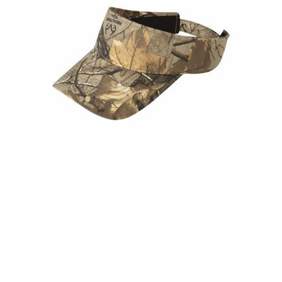 Port Authority Cap: Camouflage Visor