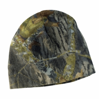 Port Authority Beanie: Mossy Oak Anti-Pill Fleece Cap (C901)