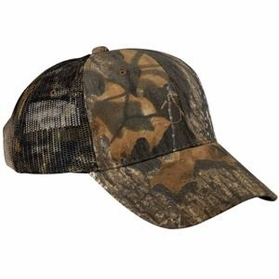 Port Authority Cap: Pro Series with Mesh Back Camouflage (C869)