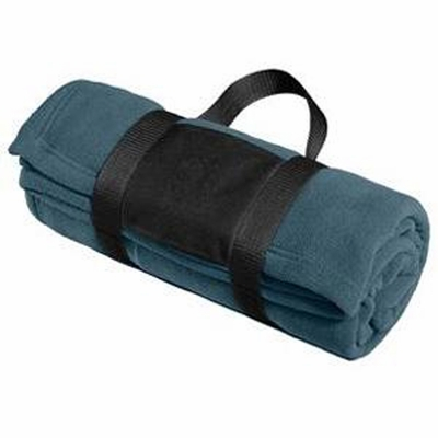 Port Authority Blanket: Fleece with Carrying Strap (BP20)