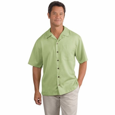 Port Authority Men's Camp Shirt: Easy Care Pocketed (S535)