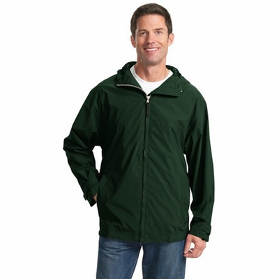 Port Authority Men's Jacket: Seattle Slicker Pocketed (J771)