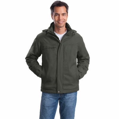 Port Authority Men's Parka: Herringbone 3-In-1 (J302)