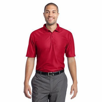 Port Authority Men's Polo Shirt: Performance Vertical Texture Pique (K512)