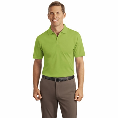 Port Authority Men's Polo Shirt: Silk Touch Interlock (K520)