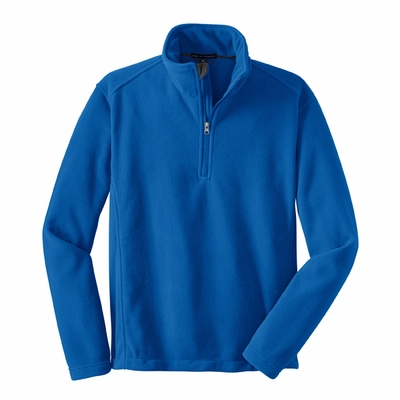 Port Authority Men's Tall Fleece Jacket: Value 1/4-Zip Pullover (TLF218)