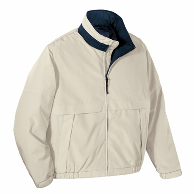 Port Authority Men's Tall Jacket: Legacy Pocketed with Stowaway Hood (TLJ764)