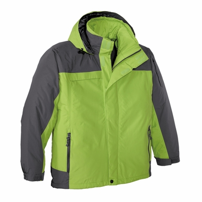 Port Authority Men's Tall Jacket: Nootka Waterproof with Zip-Off Hood (TLJ792)
