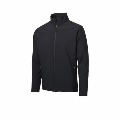Port Authority Men's Tall Soft Shell Jacket: Waterproof Core Full-Zip (TLJ317)