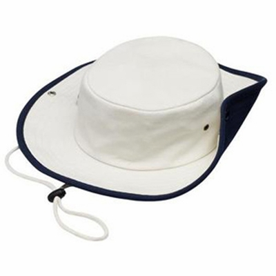 Port Authority Outback Hat: 100% Cotton Contrast Drawcord (HCF)
