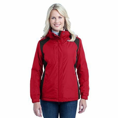 Port Authority Women's Jacket: Barrier Waterproof Shell with Zip-Off Hood (L315)