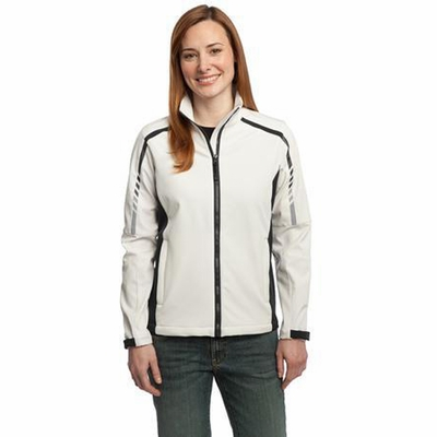 Port Authority Women's Jacket: Embark Two-Tone Soft Shell (L307)