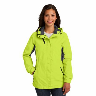 Port Authority Women's Jacket: Cascade Color Block Waterproof (L322)