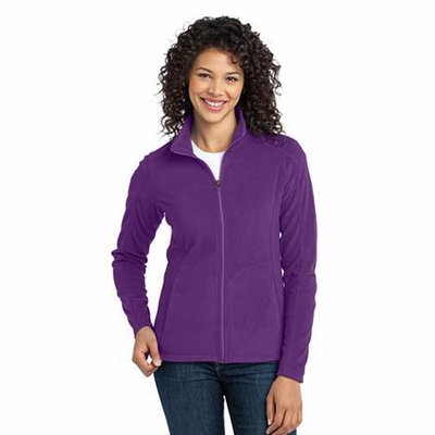 Port Authority Women's Jacket: Lightweight Microfleece Pocketed (L223)