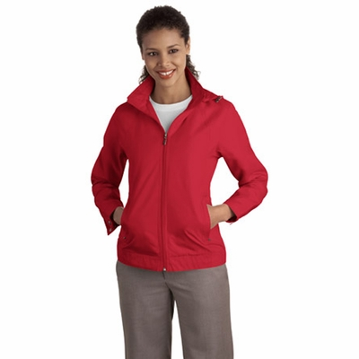 Port Authority Women's Jacket: Successor Pocketed with Zip-Off Hood (L701)