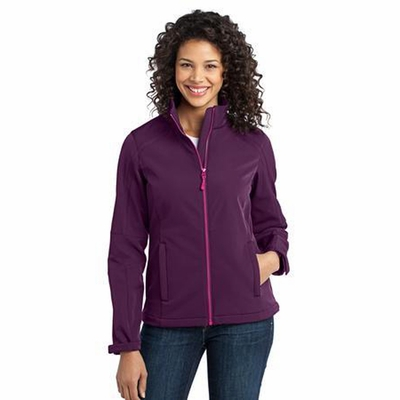 Port Authority Women's Jacket: Traverse Soft Shell Microfleece Lined (L316)