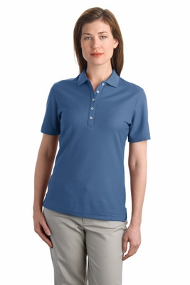 Port Authority Women's Polo Shirt: EZCotton Pique 5-Button (L800)