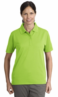 Port Authority Women's Polo Shirt: 4-Button Dry Zone Ottoman (L525)