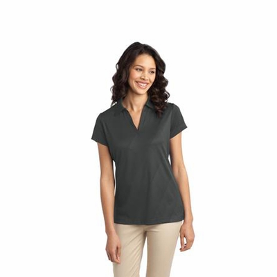 Port Authority Women's Polo Shirt: Tech Embossed