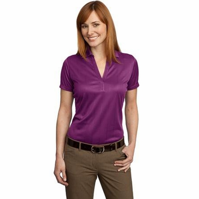 Port Authority Women's Polo Shirt: Lightweight Performance Jacquard (L528)