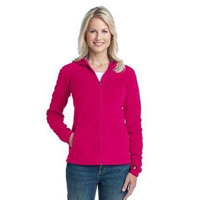 Port Authority Women's Sweatshirt: Full-Zip Microfleece Hoodie (L225)