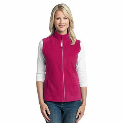 Port Authority Women's Vest: Lightweight Microfleece Pocketed (L226)