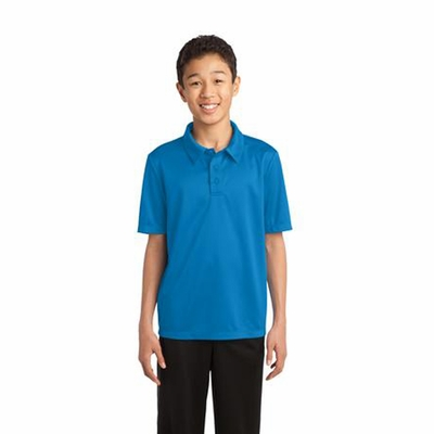 Port Authority Youth Polo Shirt: Silk Touch Performance