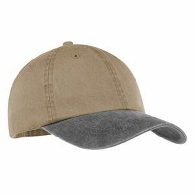 Port & Company Cap: 100% Cotton 2-Tone Pigment-Dyed (CP83)