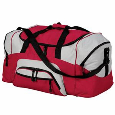 Port & Company Duffel Bag: Colorblock Sport (BG99)