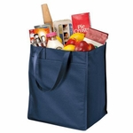Port & Company Grocery Tote: Extra Wide; Polypropylene(B160)