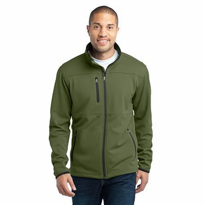 Port & Company Men's Jacket: Pique Fleece w/ Pockets(F222)