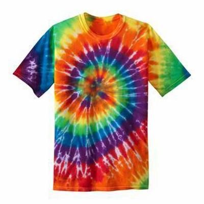 Port & Company Youth T-Shirt: Essential Tie-Dye Crewneck(PC147Y)