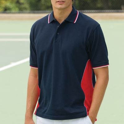 Proline Sportswear Men's Polo Shirt: Marathon Moisture Manage Pique (2222)