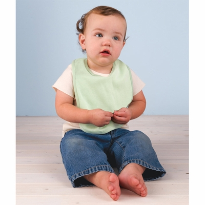 Rabbit Skins Infant Bib: 100% Organic Cotton 2-Ply Baby Rib (2003)