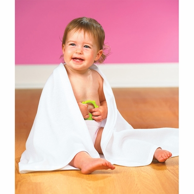Rabbit Skins Infant Blanket: 100% Cotton Thermal (1010)