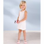 Rabbit Skins Toddler Girl's Dress: 100% Cotton 2x1 Rib Tank (5306)