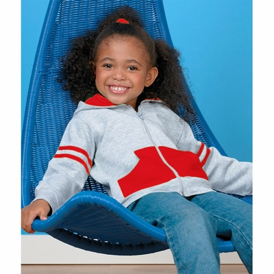 Rabbit Skins Toddler Sweatshirt: (3396)