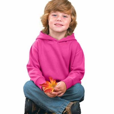 Rabbit Skins Toddler Sweatshirt: 7.5 oz. Pullover Hooded (3326)