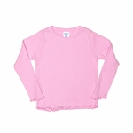 Rabbit Skins Toddler T-Shirt: 100% Cotton Long-Sleeve Tiny (3337)