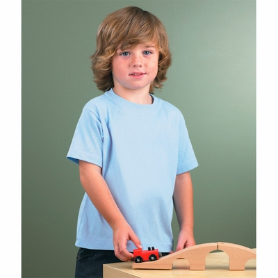 Rabbit Skins Toddler T-Shirt: 100% Organic Cotton (RS2001)