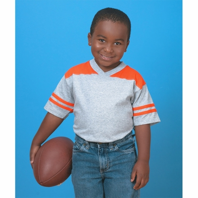 Rabbit Skins Toddler T-Shirt: Football (3381)