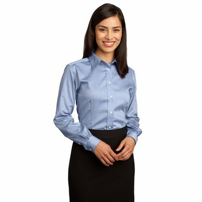 Red House Women's Oxford Shirt: 100% Cotton Non-Iron Pinpoint (RH25)
