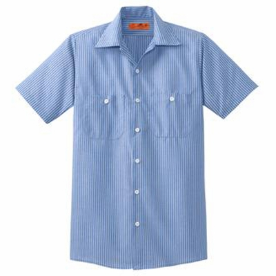 Red Kap Men's Industrial Work Shirt: (CS20)