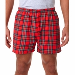 Robinson Apparel Men's Boxer Shorts: 100% Cotton Flannel Plaid (4970)