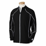 Russell Athletic Men�s Jacket: 100% Polyester Team Prestige Full-Zip with Contrast Piping (S81JZM)