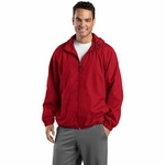 Sport-Tek Men's Jacket: Hooded Raglan (JST73)