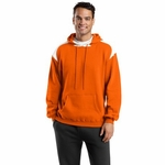 Sport-Tek Men's Sweatshirt: Pullover Hooded With Contrast Color (F264)