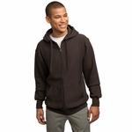 Sport-Tek Men's Sweatshirt: Super Heavyweight Pullover Full-Zip Hooded (F282)