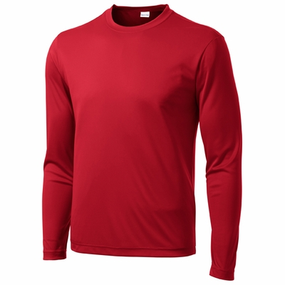 Sport-Tek Men's Tall T-Shirt: (TST350LS)